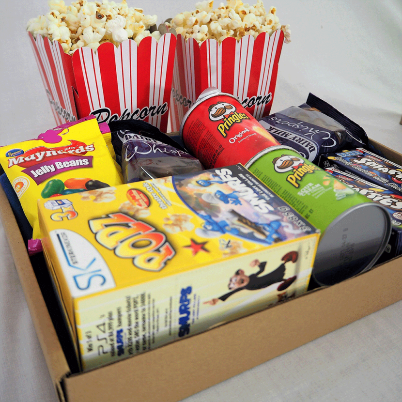 Movie Night Snack Box The Snack Box